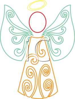Free Clip Art Picture - Angel Clipart Free