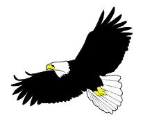 Free clip art pictures of eagles 2