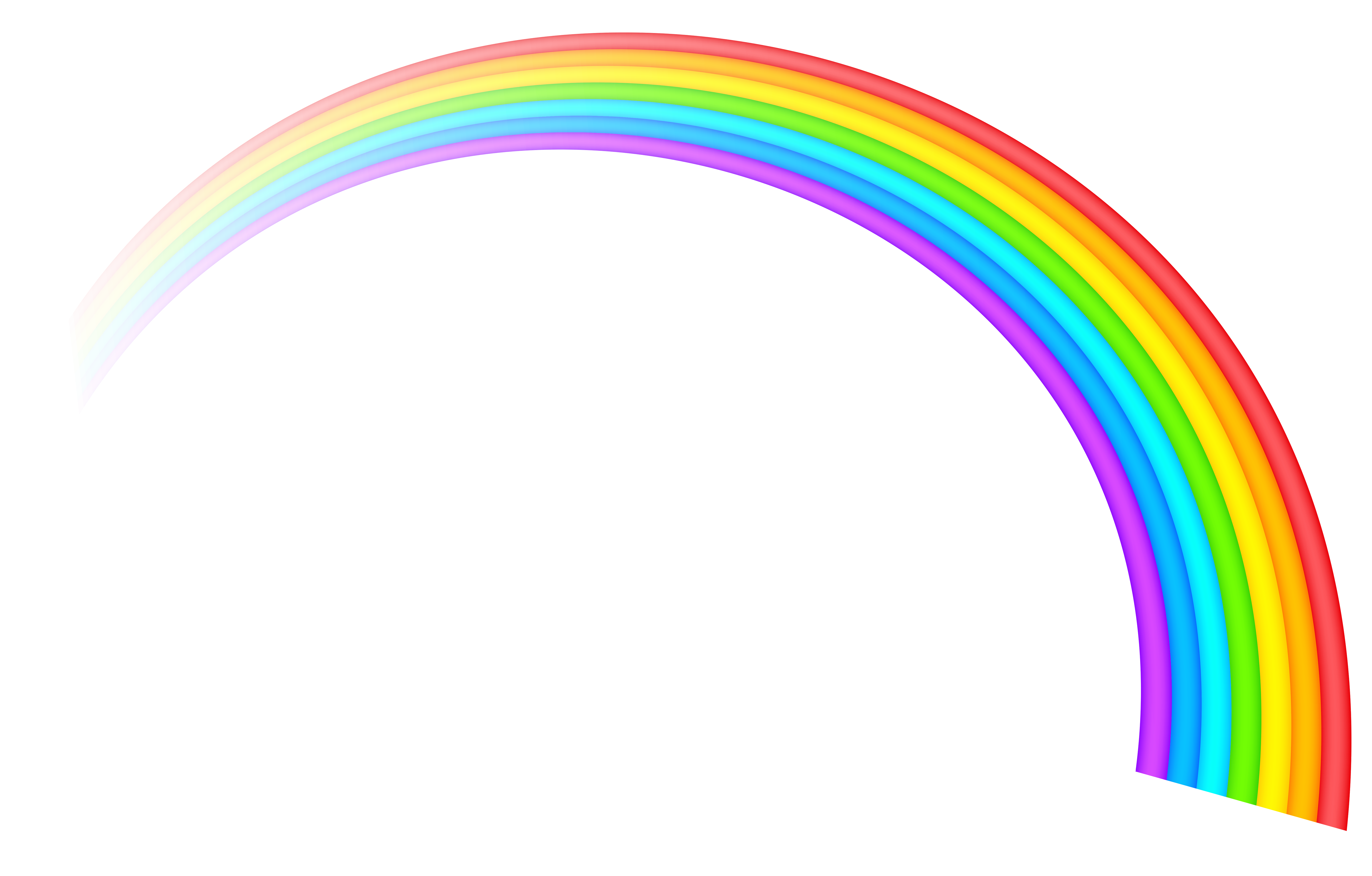 Free Clip Art Rainbows .