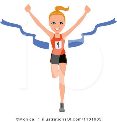 Free Clip Art Running Woman .