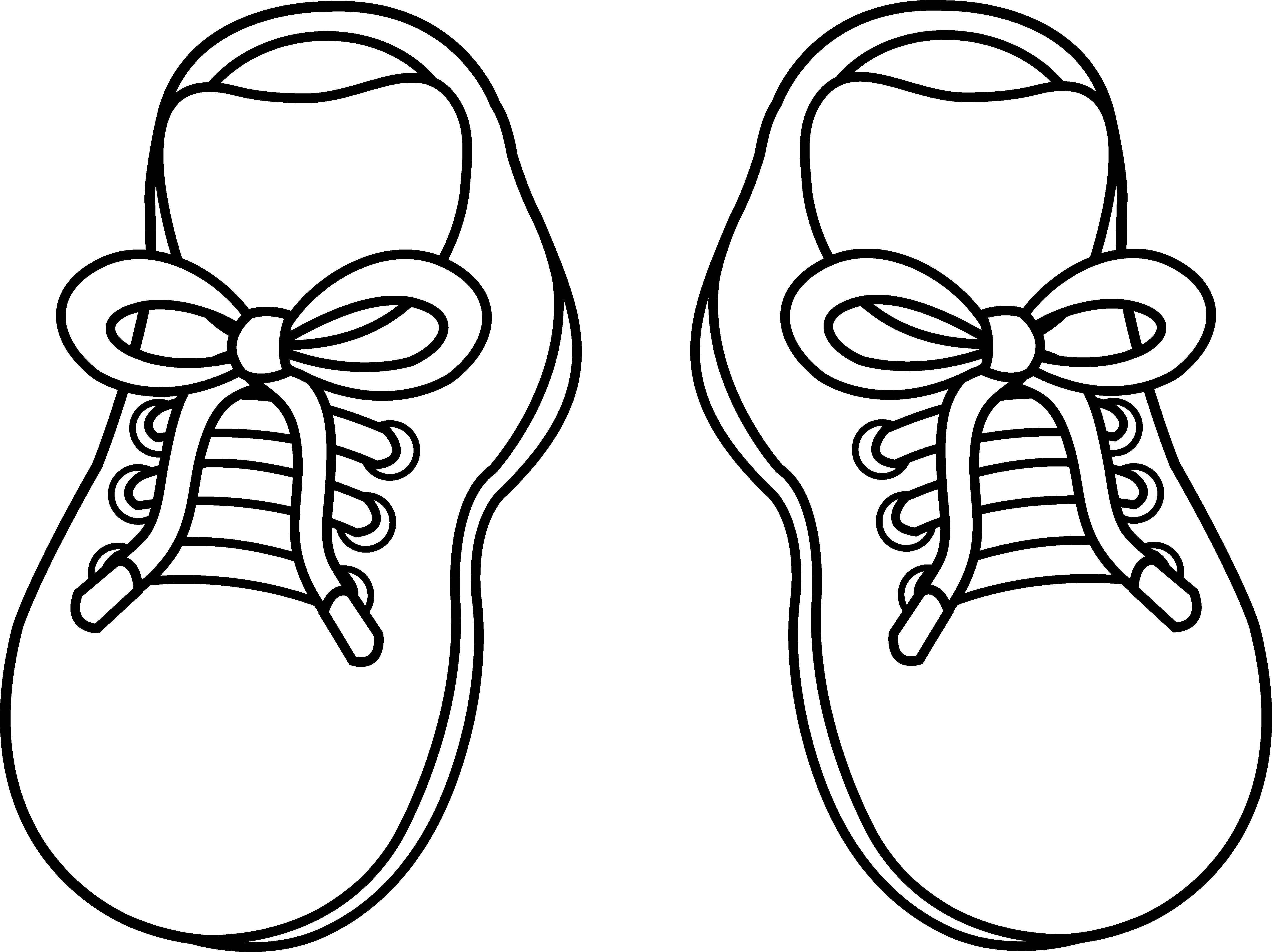 Free Clip Art Shoes-Free Clip Art Shoes-7