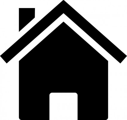 Free clip art silhouette house .-Free clip art silhouette house .-6