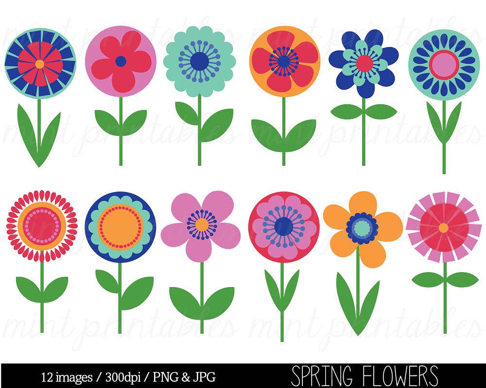 Free Clip Art Spring Flowers .