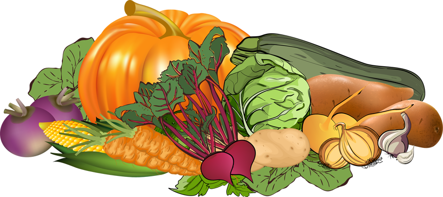 Free clip art vegetables - .