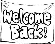 Welcome Back To School Clip A