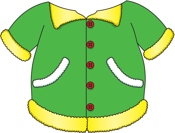 Free Clip Art Winter Jacket .