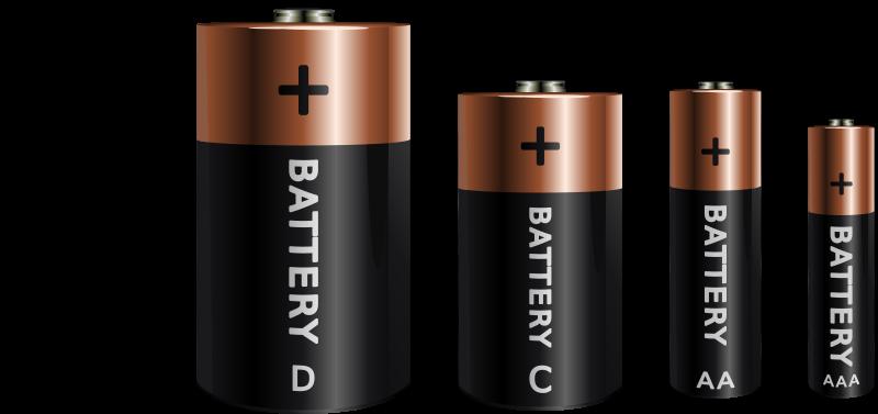 Free Clipart: Batteries .-Free Clipart: Batteries .-16