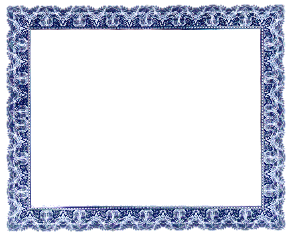 Free clipart certificate .