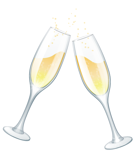 free clipart champagne .
