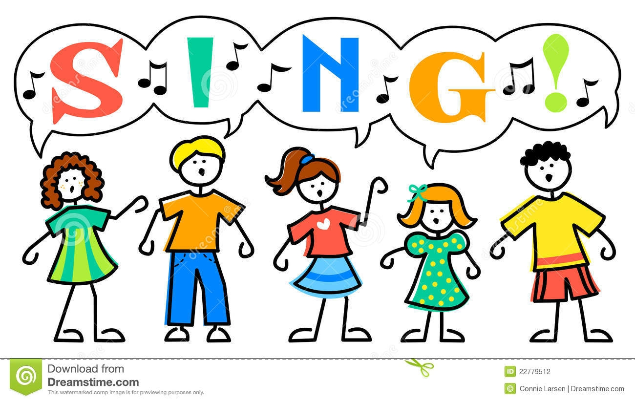 Free Clipart Children Singing