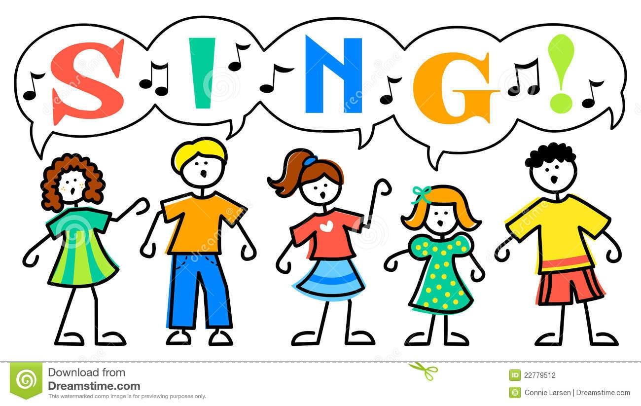 Free Clipart Children Singing
