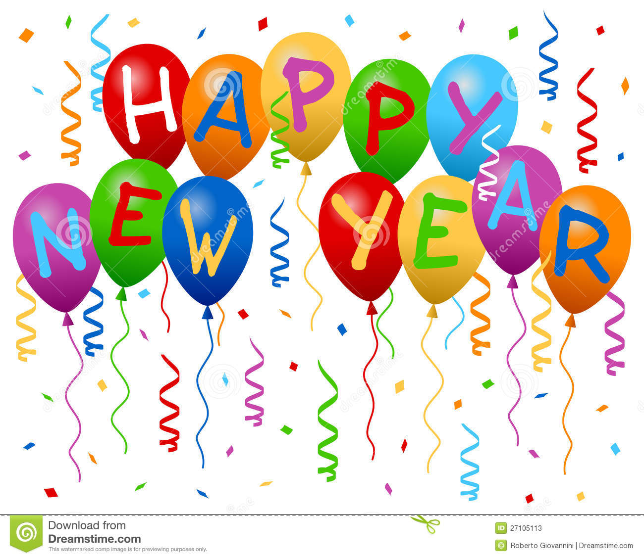 Free Clipart for Happy New .