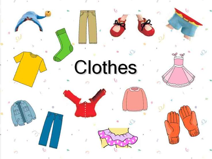 free clipart for teachers clothing | PowerPoint-Presentation to teach u0026quot;Clothesu0026quot;.