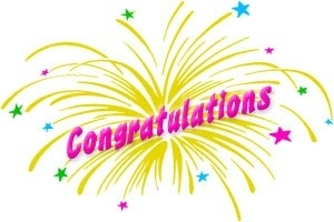 Free clipart free graphics congratulations 2 image
