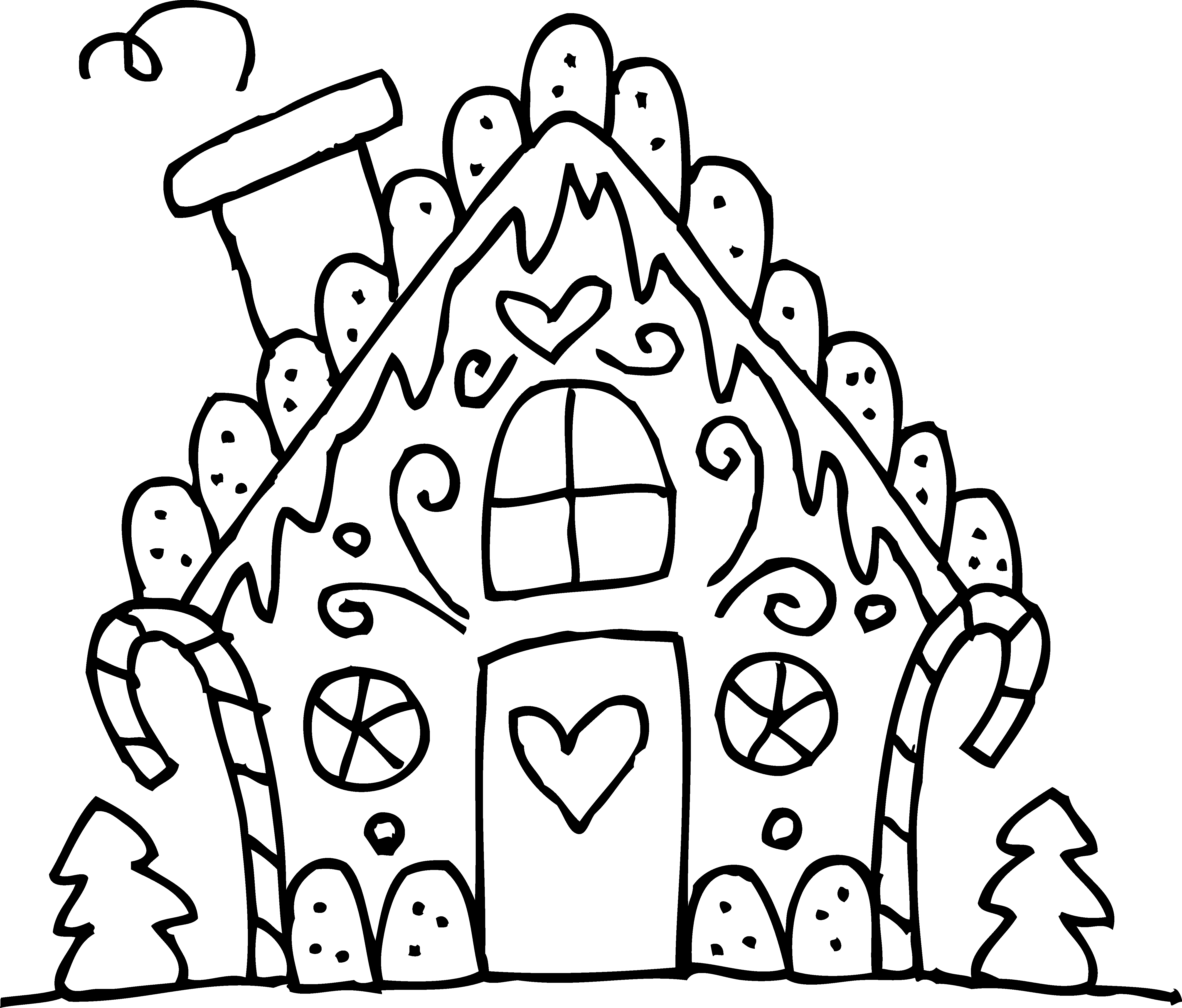 Free clipart gingerbread house and men - ClipartFox