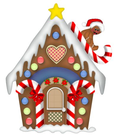 free clipart gingerbread house - Google Search