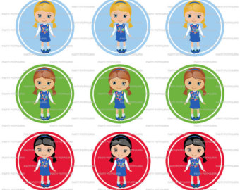 Free Clipart Girl Scout Daisy. INSTANT D-Free Clipart Girl Scout Daisy. INSTANT DOWNLOAD ~ Daisy Girl .-11