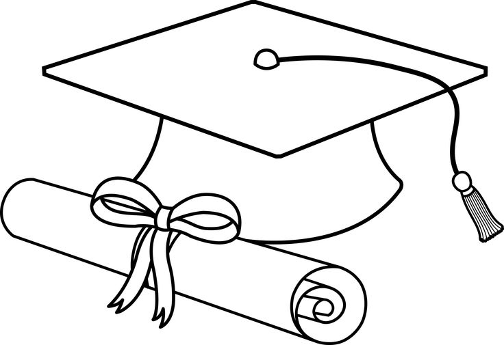 ... Free clipart graduation cap and diploma ...