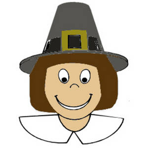 Free Clipart Graphic Of A Pilgrim Boy-Free Clipart Graphic of a Pilgrim Boy-17