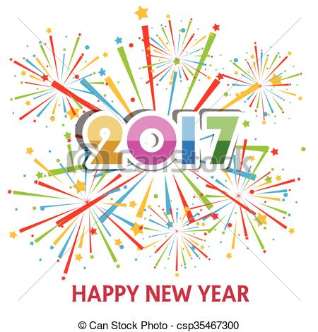 Free Clipart Happy New Year .-Free Clipart Happy New Year .-19