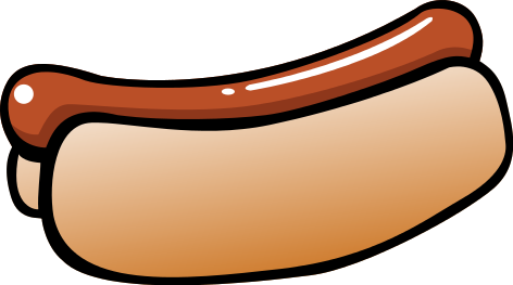 Free Clipart Hotdog - Clipart library