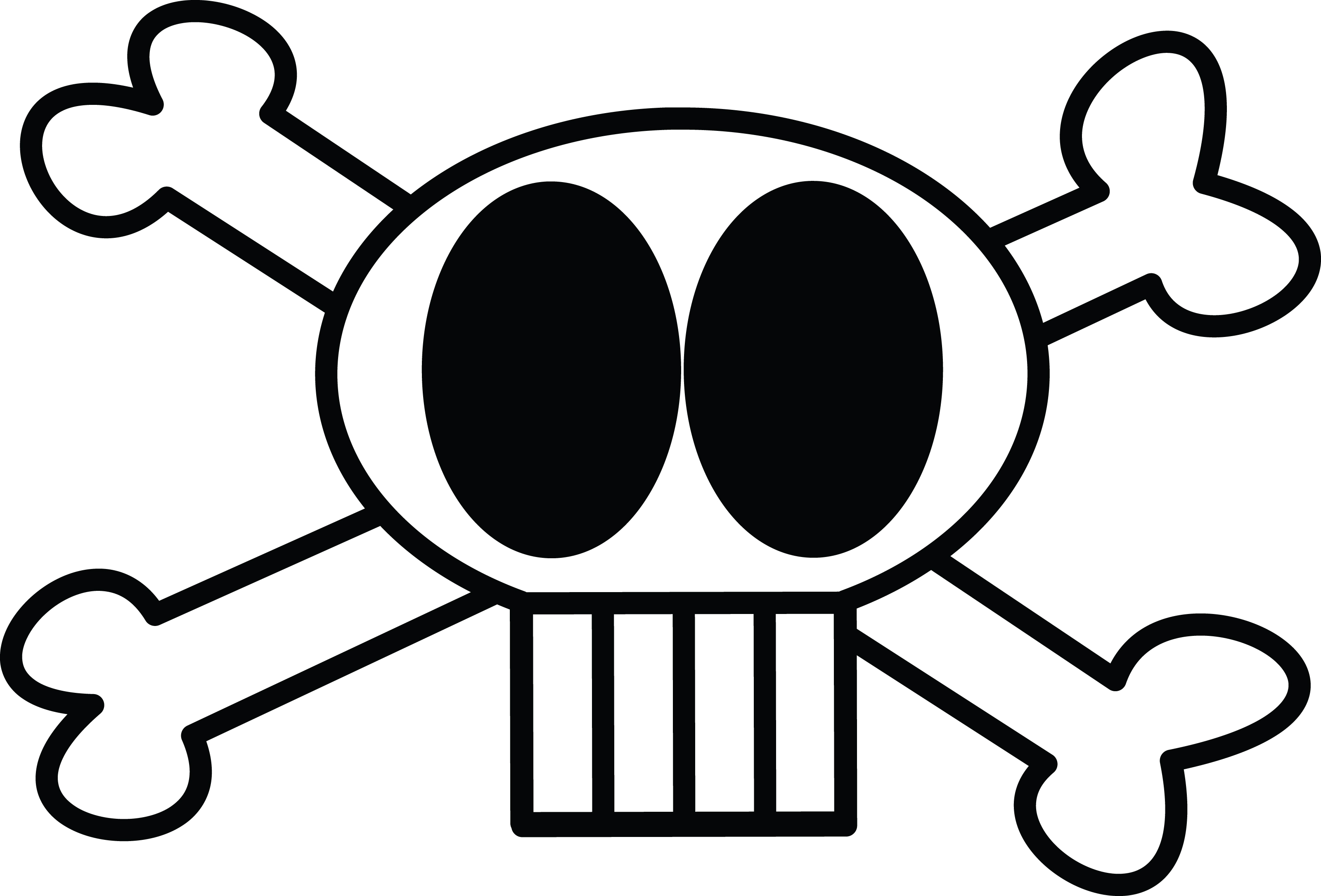 Free Clipart Illustration Of Skull And C-Free Clipart Illustration Of Skull And Crossbones-2