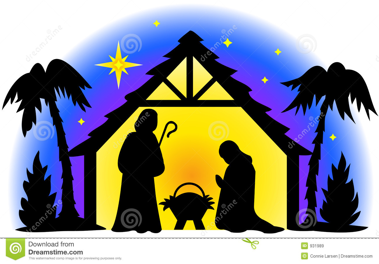 ... free clipart image image. Nativity silhouette, .
