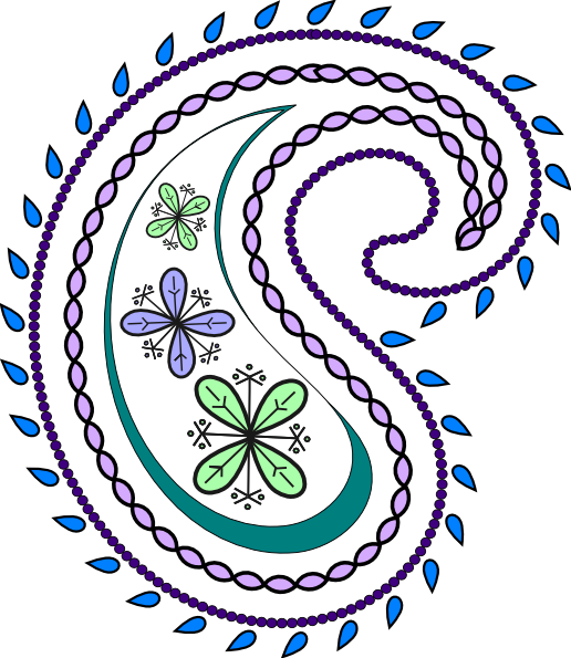 Free clipart images, Paisley .