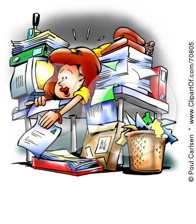Free Clipart Messy Desk - .-Free clipart messy desk - .-3