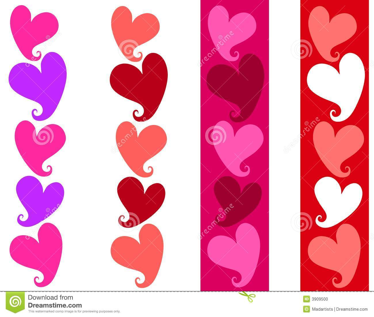 Free Clipart N Images Free ... Simple Valentine Heart Borders .