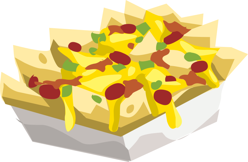 Free Clipart Nachos And Cheese .