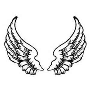 Free Clipart Picture of Feathered Angel -Free Clipart Picture of Feathered Angel Wings-9