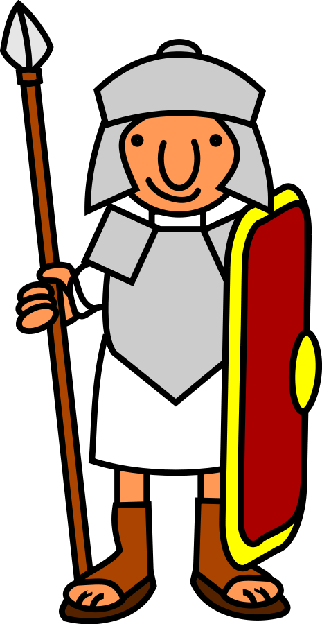... Free clipart roman soldier ...