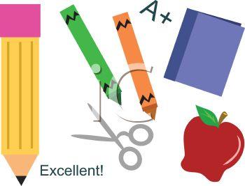Free Clipart School Supplies-free clipart school supplies-5