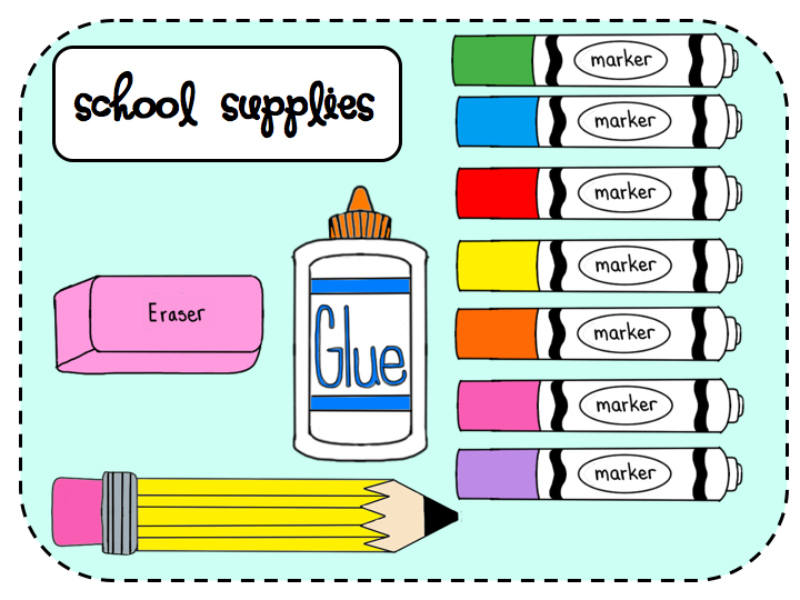 Free Clipart School Supplies ... Telling-Free clipart school supplies ... telling clipart-6