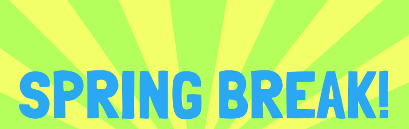 Free Clipart: Spring Break | .