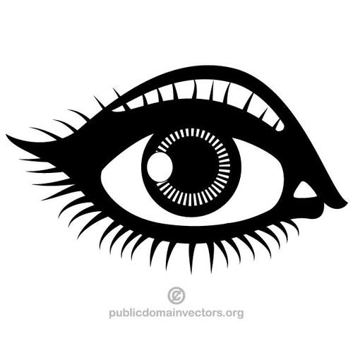 Free clipart winking eye public domain vectors