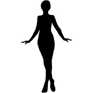 Free clipart woman silhouette ...