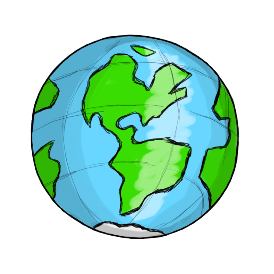 Free clipart world globe .