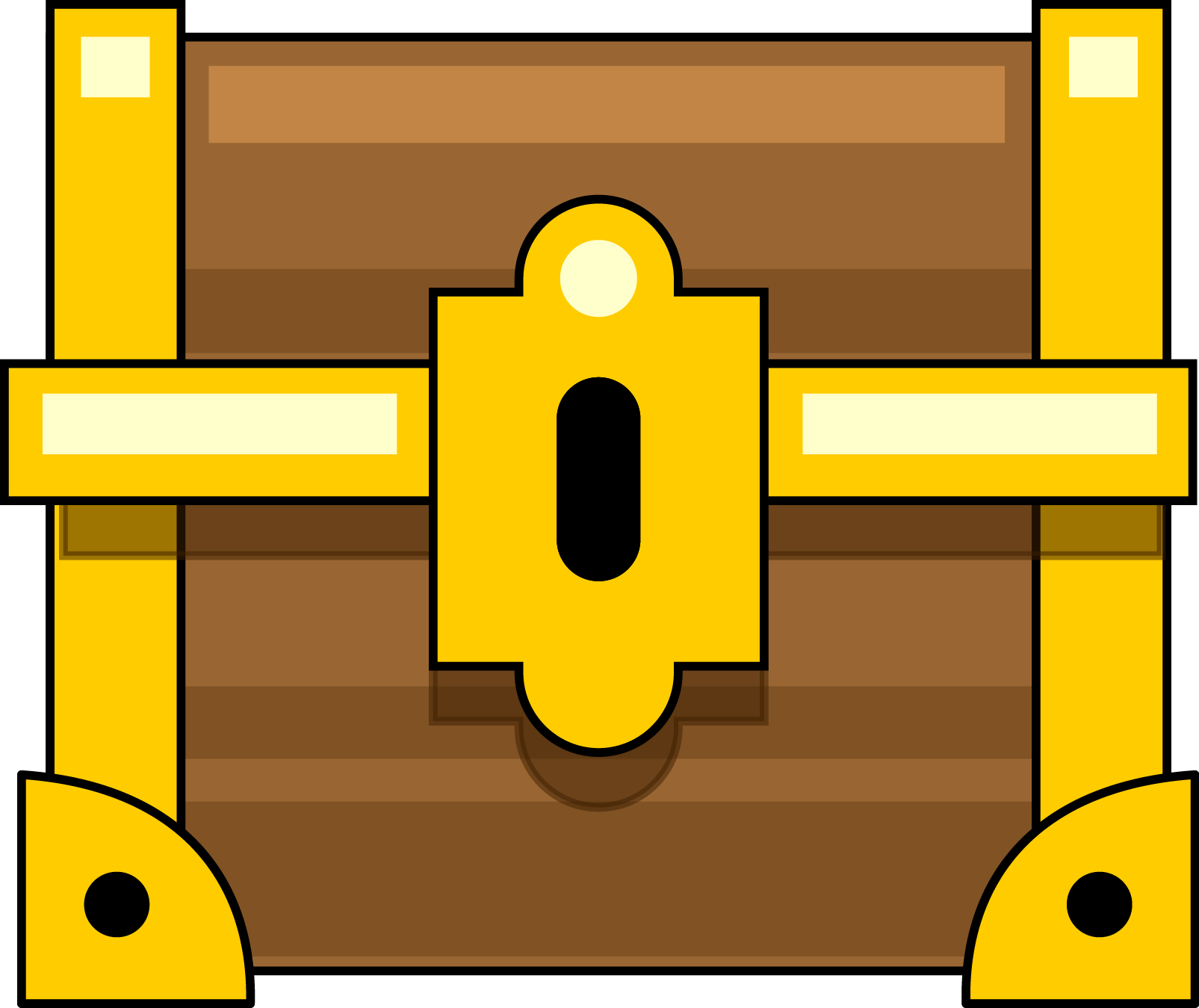 Free Closed Treasure Chest Clip Art