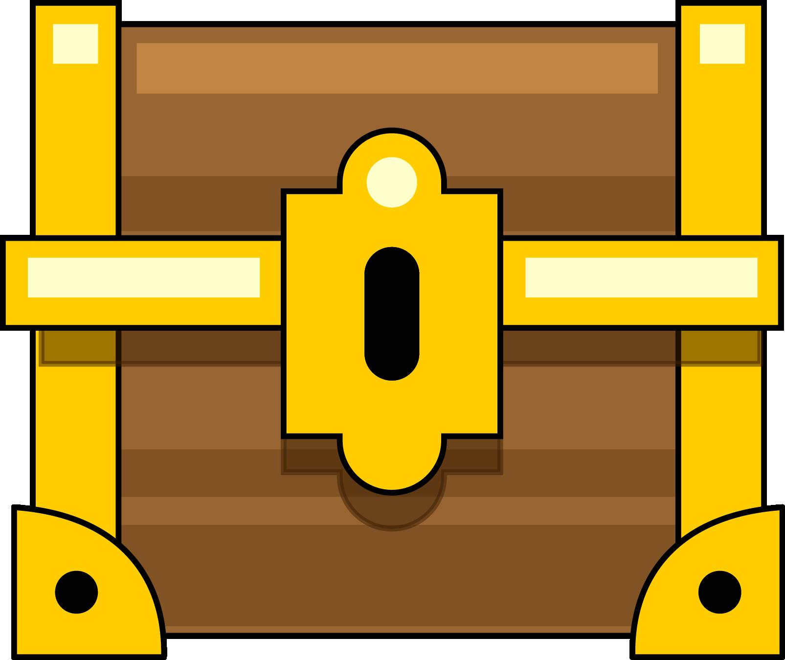 Free Closed Treasure Chest Clip Art