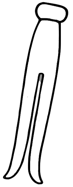 Free Clothespin Clipart-Free Clothespin Clipart-1
