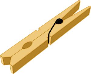 Free Clothespin Clipart-Free Clothespin Clipart-0