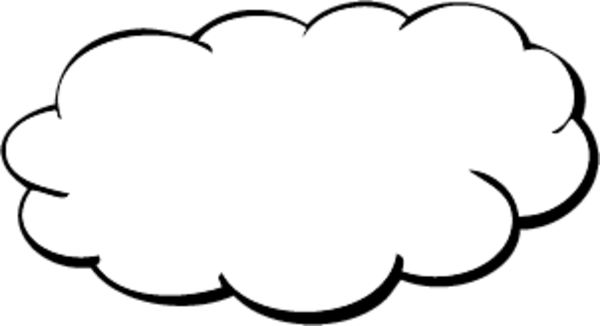 Free cloud clipart public dom - Cloud Clipart
