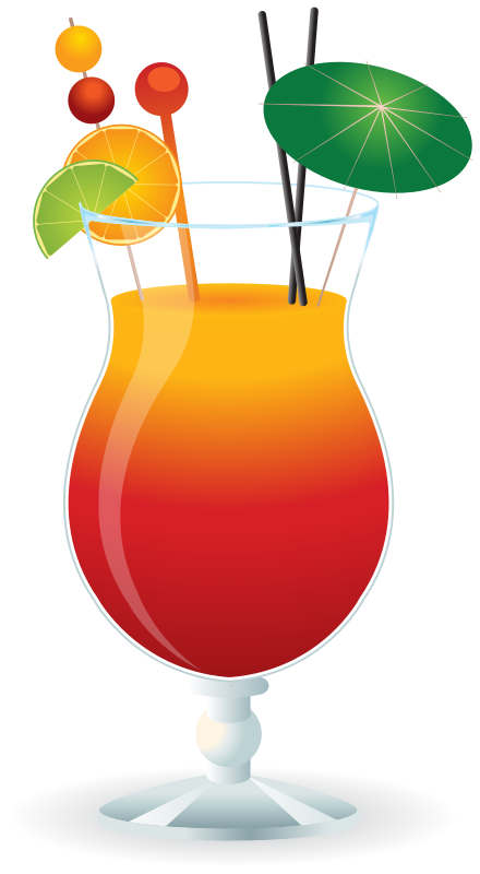 Free Cocktail Clip Art u0026middot; cocktail7