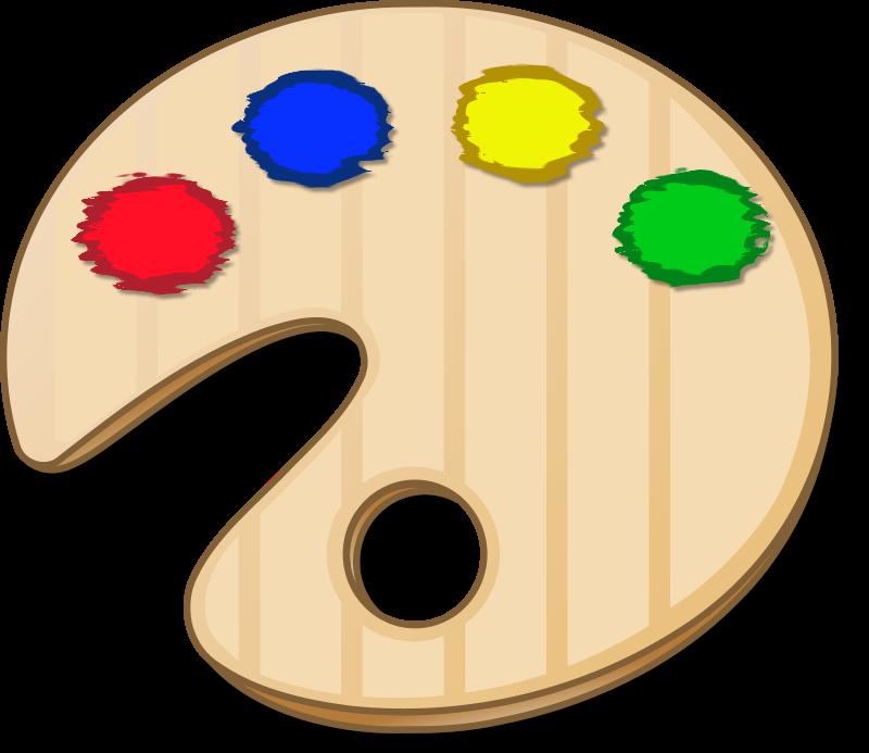 Free Color Palette Icon Clip Art-Free Color Palette Icon Clip Art-15