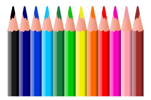 Free Colored Pencil Clipart