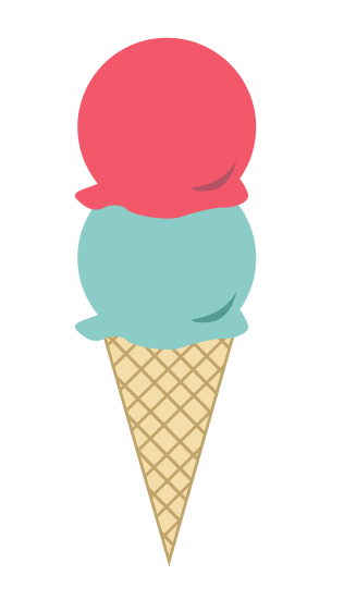 Free Colorful Ice Cream Clip Art