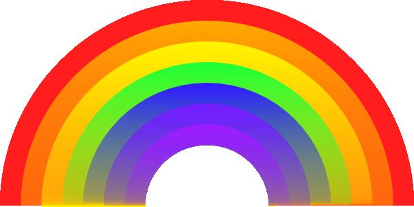 Free Colorful Rainbow Clip Art-Free Colorful Rainbow Clip Art-12