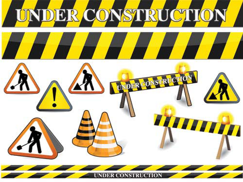Free Construction Clip Art | ... Construction Signs Clip Art Vector → Graphics » Vector Clipart | Construction | Pinterest | Construction signs, ...